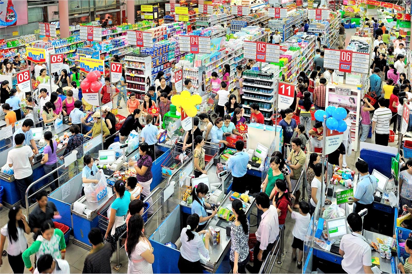 Bán lẻ Việt Nam - Một năm nhìn lại: Xu hướng mới trong kinh doanh và tiêu dùng