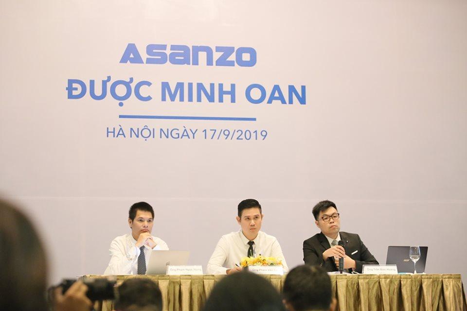 Sharp tuyên bố kiện Asanzo đến cùng vì nghi ngờ giả mạo bằng chứng