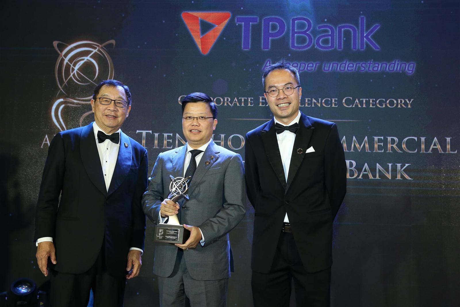 Enterprise Asia đánh giá TPBank là Tổ chức tài chính xuất sắc Châu Á