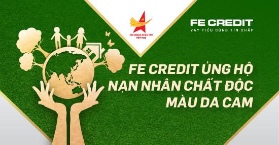 FE Credit chung tay gây quỹ ủng hộ nạn nhân chất độc màu da cam