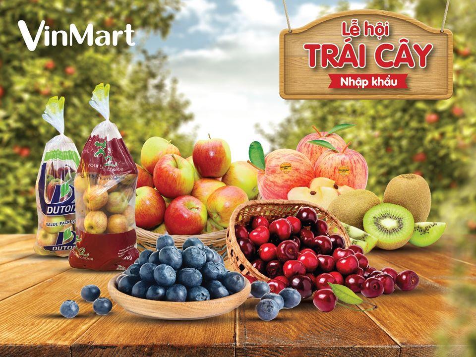 Tuần lễ trái cây nhập khẩu siêu ngon, giá siêu tốt tại VinMart/VinMart+