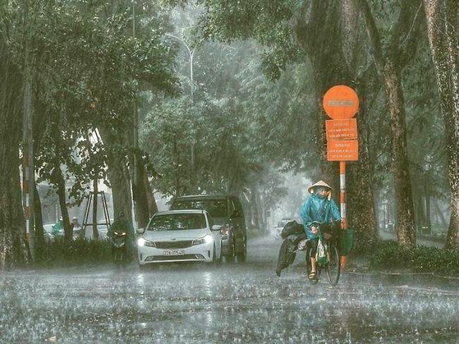 Tin cơn bão số 4: Từ chiều nay (19/8), Bắc Bộ mưa to, có nơi mưa rất to