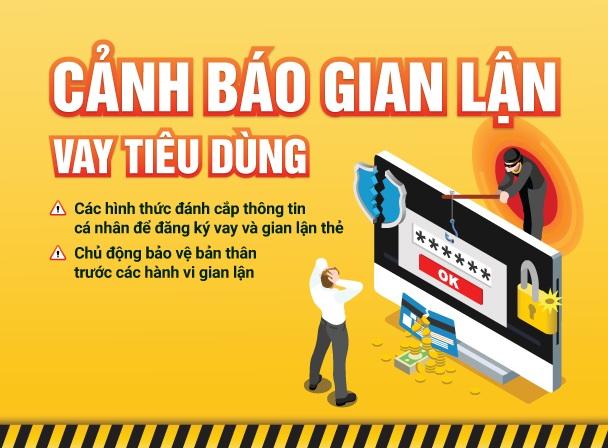 Cảnh báo một số hình thức gian lận thường gặp khi đi vay tiêu dùng tín chấp