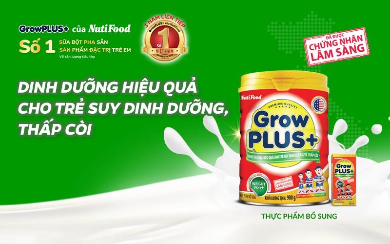 Danh sách sữa bột trên thị trường của NutiFood giúp trẻ phát triển toàn diện