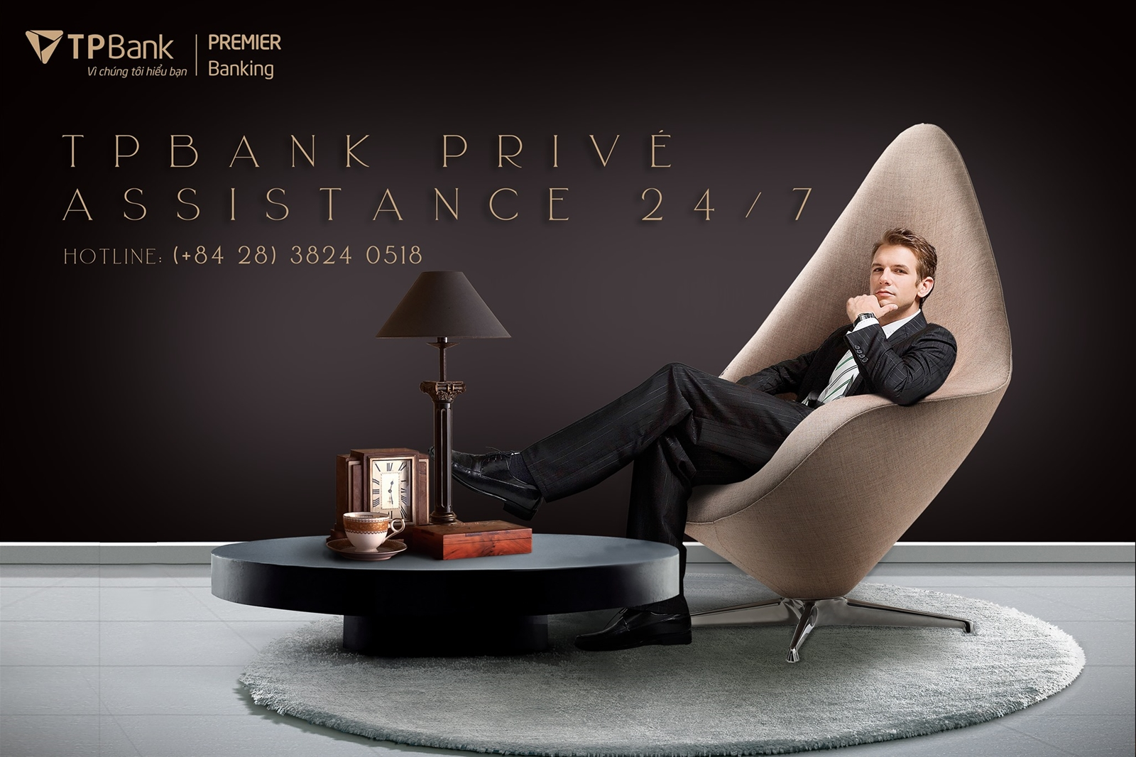 TPBank Privé Assistance - Trợ lý cá nhân đặc quyền cho riêng bạn!
