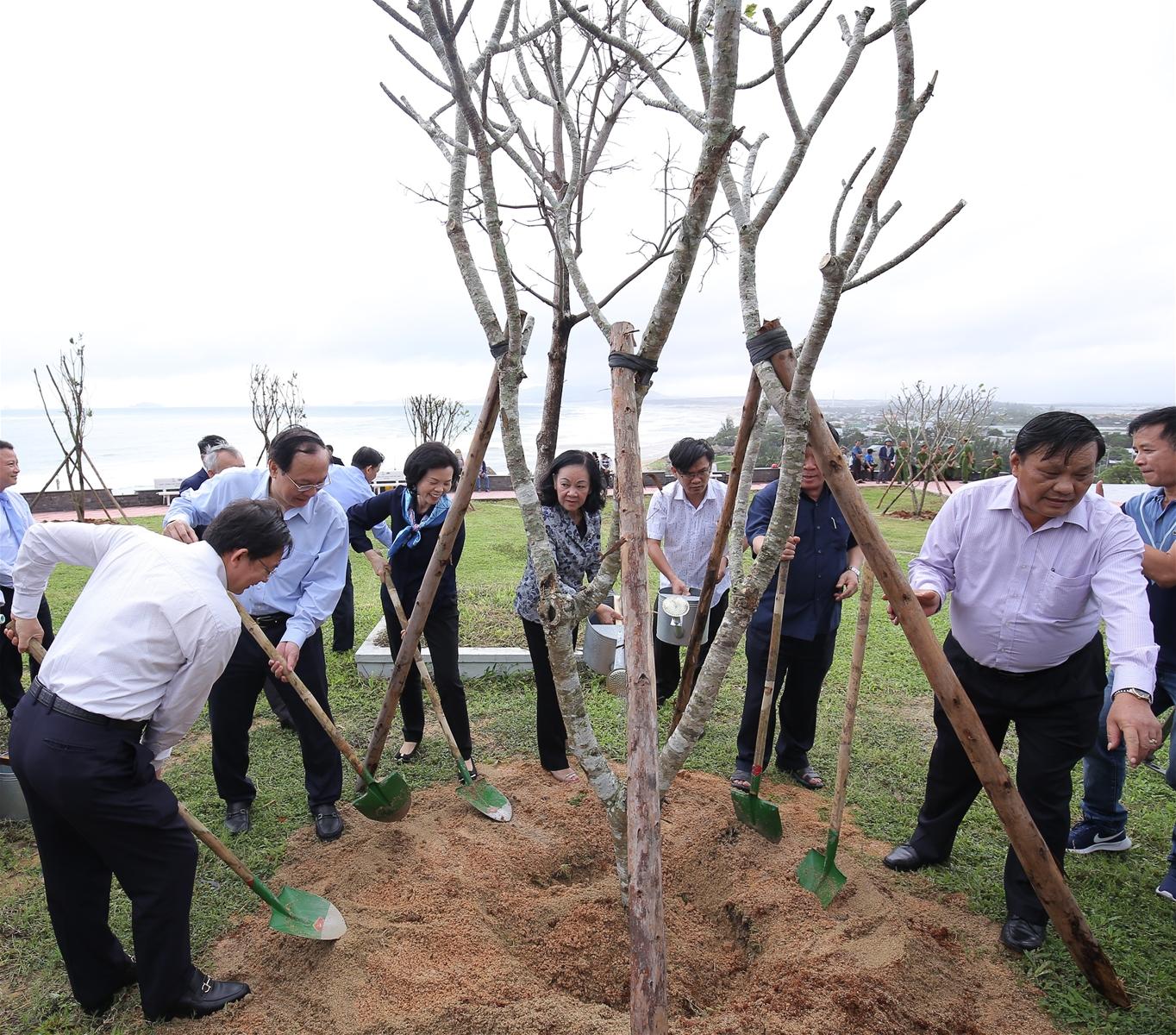 Vinamilk trồng 110.000 cây xanh góp phần phủ xanh Bình Định