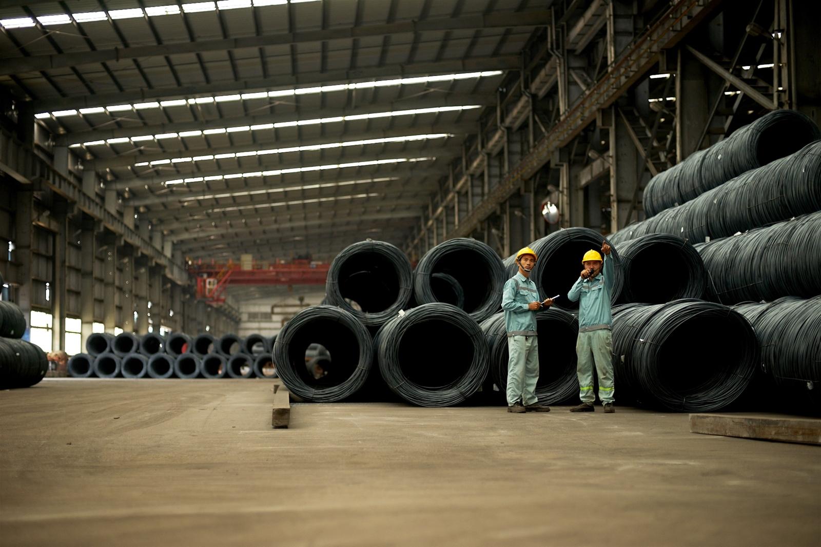 Sản lượng xuất khẩu thép xây dựng Hòa Phát tăng mạnh trong tháng 2