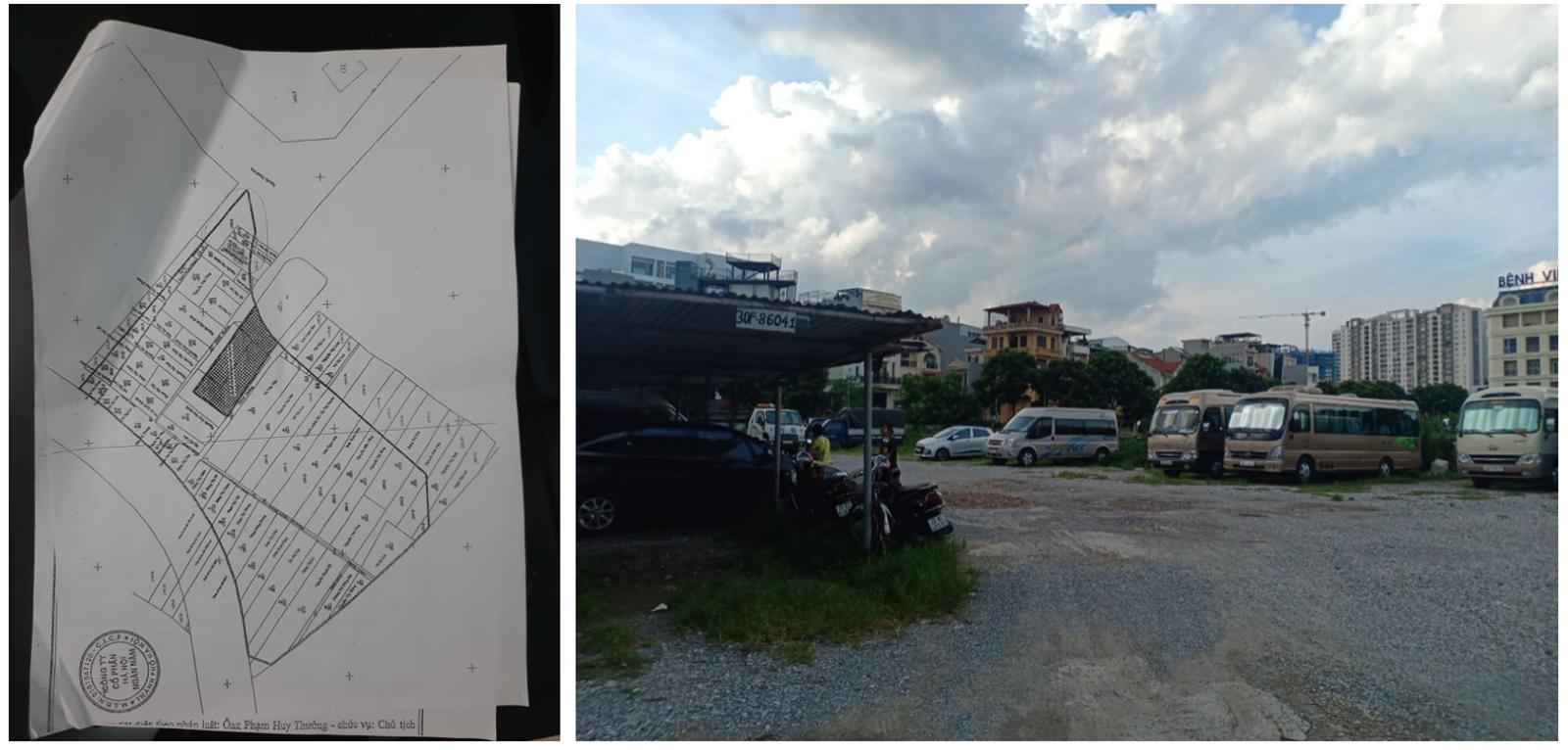 Trách nhiệm lãnh đạo phường Bồ Đề đến đâu khi dự án bệnh viện thành bãi xe?