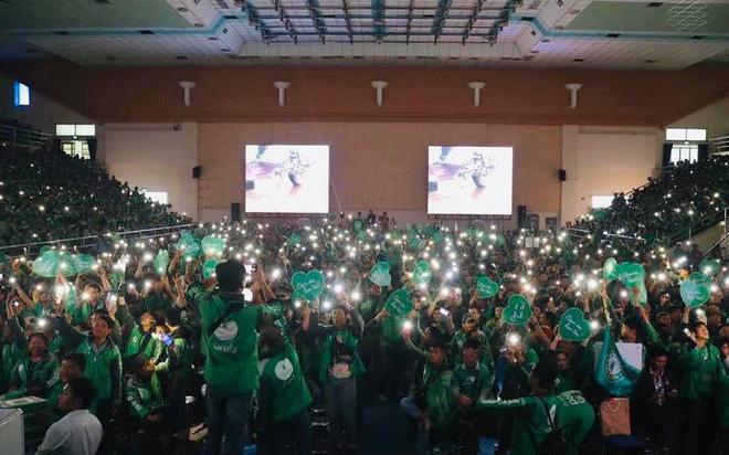 Hàng ngàn tài xế công nghệ hòa mình vào sự kiện họp mặt của Grab