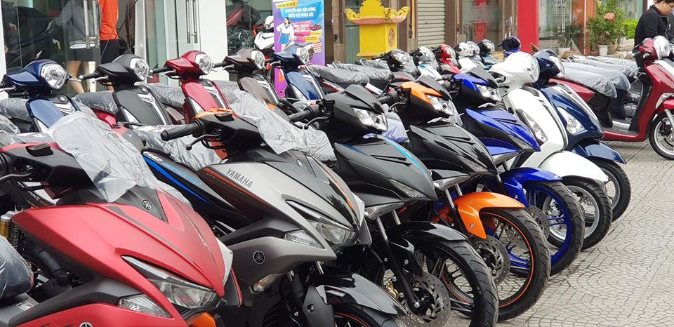 Bảng giá xe Yamaha 2020 mới nhất tháng 5/2020