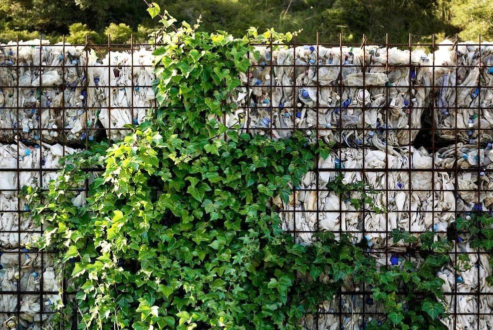 Có thể áp dụng vật liệu tái chế nào trong kiến trúc và đô thị?