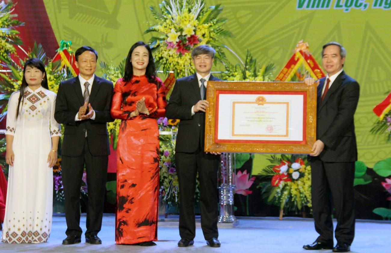 Thanh Hóa: Thêm một huyện đạt chuẩn nông thôn mới
