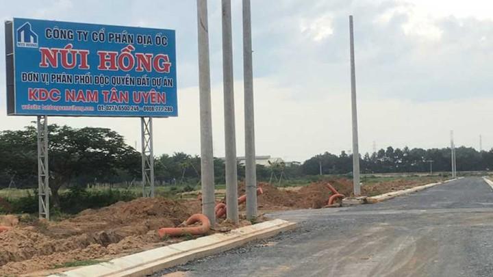 """Môi giới rao bán """"dự án ma"""" Queen Home An Phú của Núi Hồng Group?"""