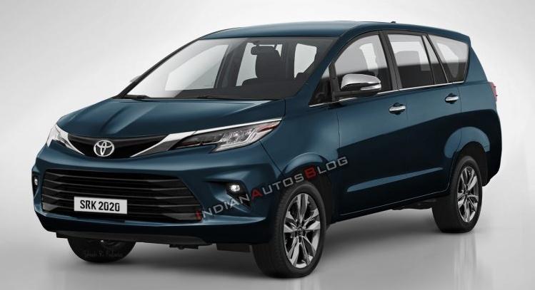Toyota Innova 2021 lộ diện