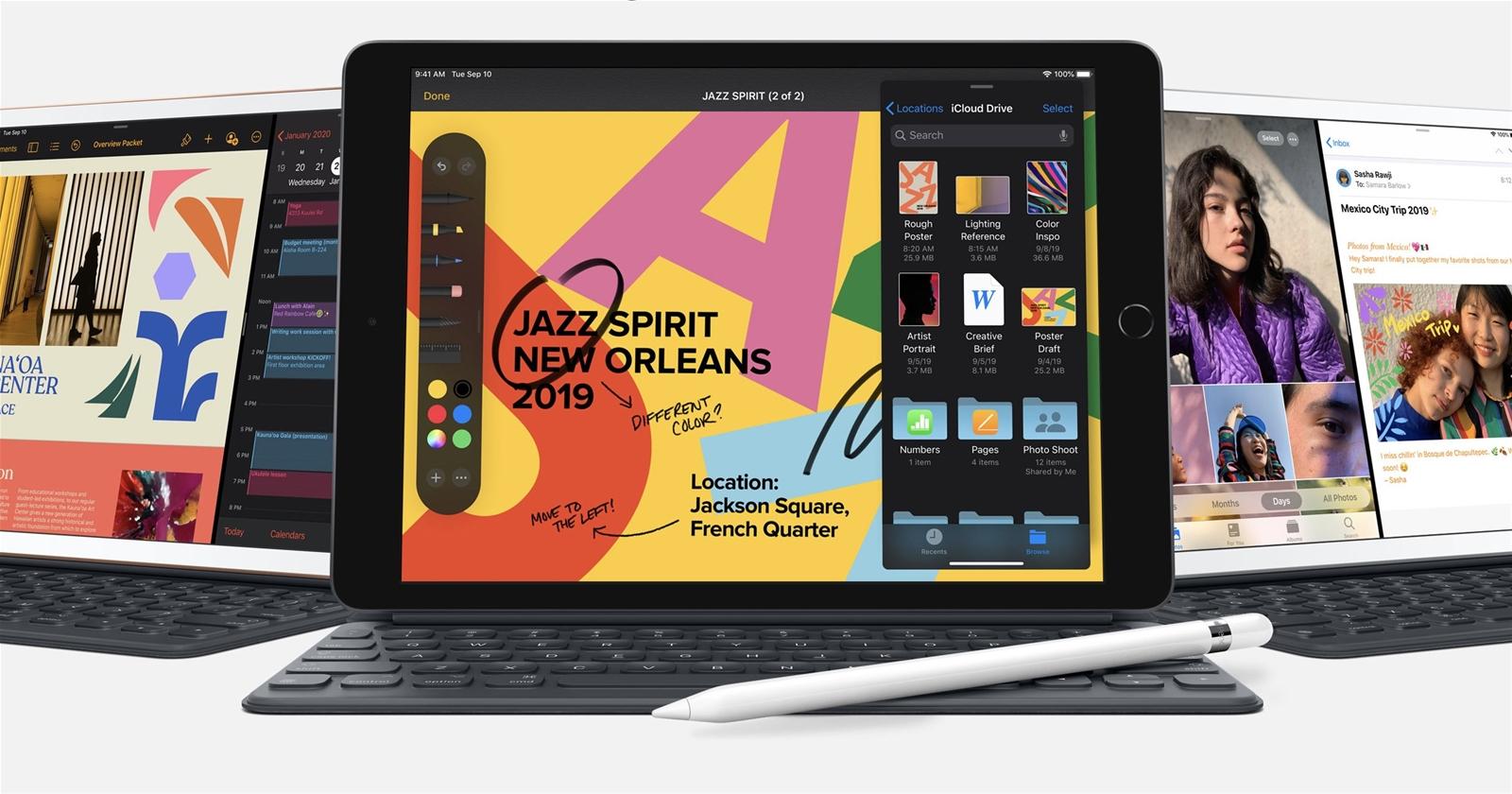 Apple sắp ra mắt iPad 8 giá rẻ mạnh như laptop