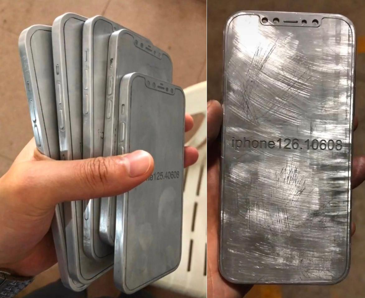 iPhone 12 lộ diện qua khuôn mẫu