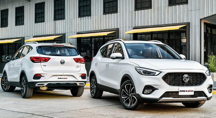SUV cỡ nhỏ giá rẻ MG ZS sắp về Việt Nam