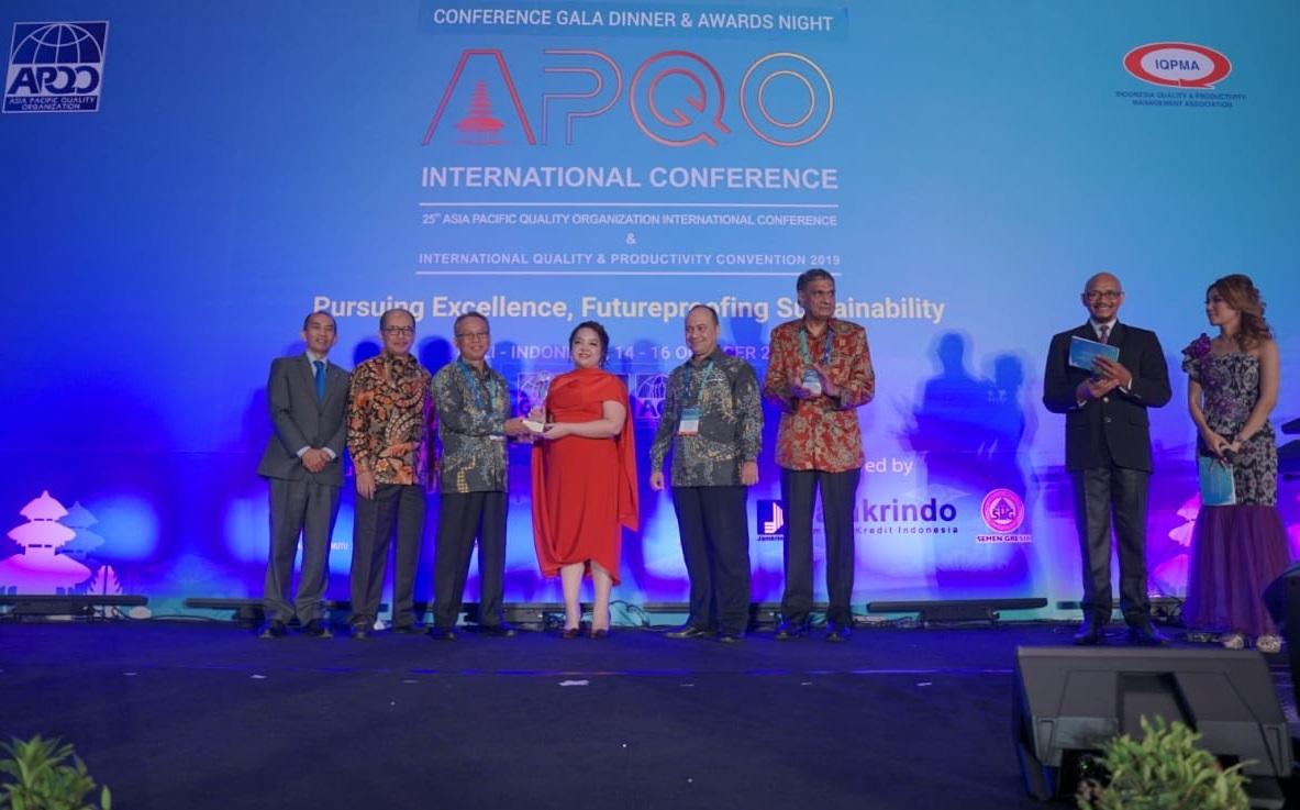 Tân Á Đại Thành nhận giải thưởng chất lượng Châu Á Thái Bình Dương 2019