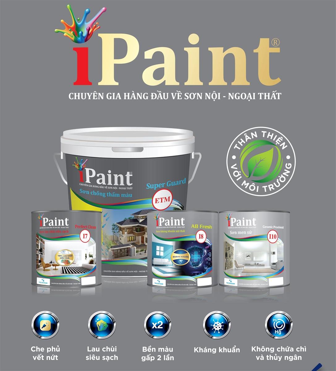 Tân Á Đại Thành ra mắt 4 sản phẩm sơn IPAINT mới
