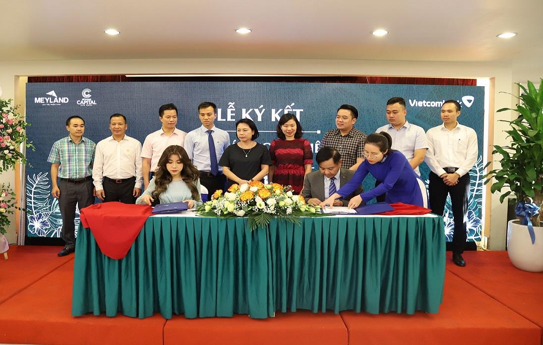 Tân Á Đại Thành - Meyland và ngân hàng Vietcombank ký kết hợp tác toàn diện