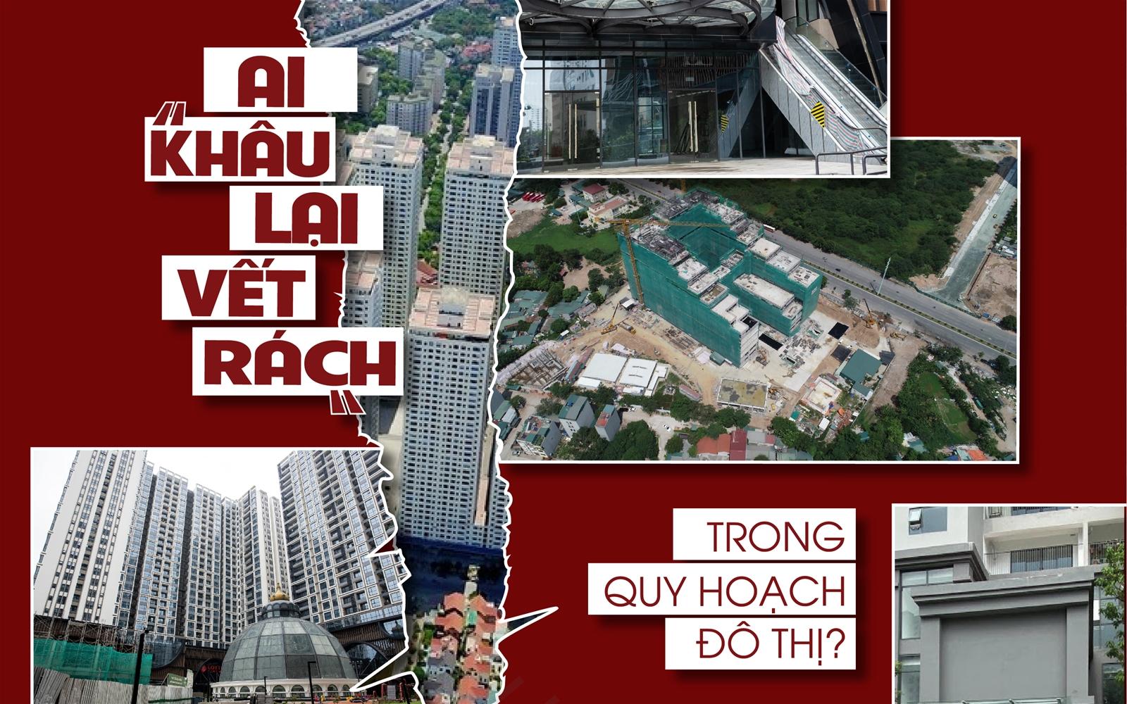 """Ai """"khâu lại vết rách"""" trong quy hoạch đô thị?"""