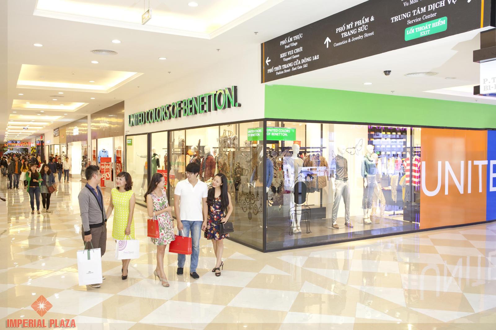 Trung tâm thương mại trong tưởng tượng và thực tế