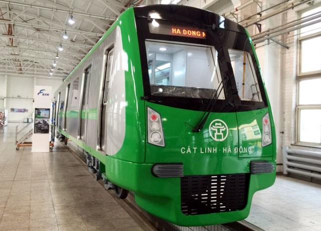 Ngày 29/10 trưng bày mẫu tàu đường sắt Cát Linh - Hà Đông