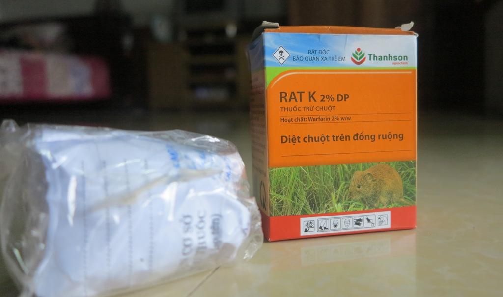Thuốc diệt chuột nhưng... không giết được chuột