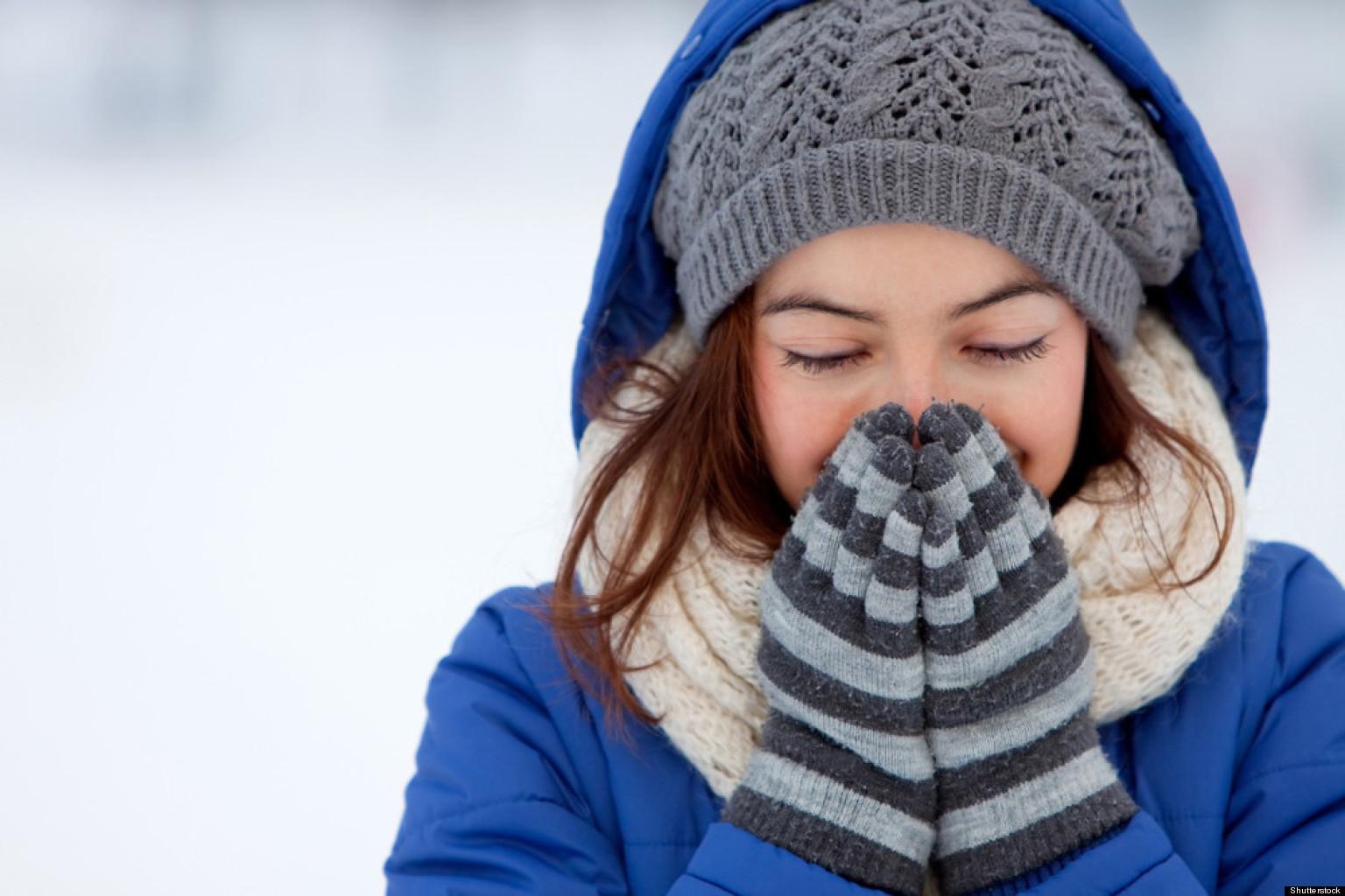 Những bộ phận trên cơ thể cần được giữ ấm đúng cách vào ngày lạnh