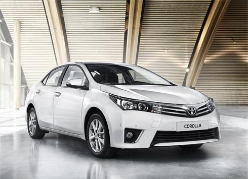 Cập nhật giá bán mới nhất các mẫu xe Toyota 2015