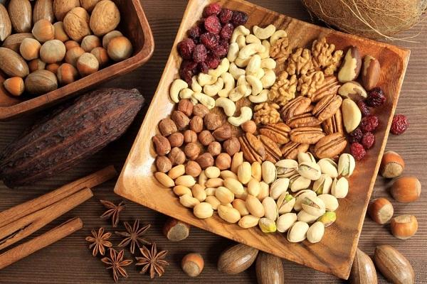Bảng giá một số loại hạt khô ăn tết 2016