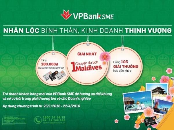 Cơ hội du lịch Maldives khi vay vốn tại VPBank