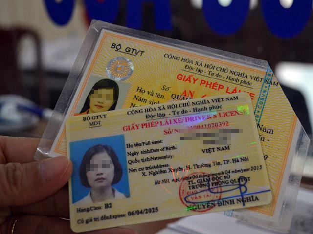 Các loại giấy phép lái xe ô tô tại Việt Nam hiện nay