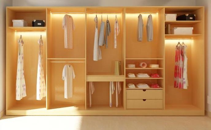Cách sắp xếp tủ quần áo theo nguyên tắc phong thủy