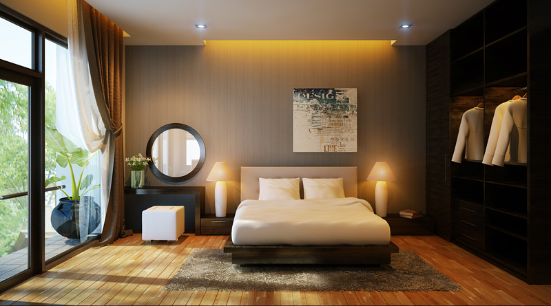 Diện tích phòng ngủ bao nhiêu là vừa?