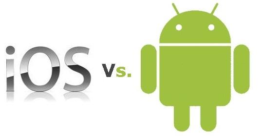Sự khác nhau giữa Android và iOS? Ưu thế của mỗi loại