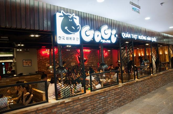 Danh sách địa chỉ Quán thịt nướng Hàn Quốc Gogi House trên toàn quốc