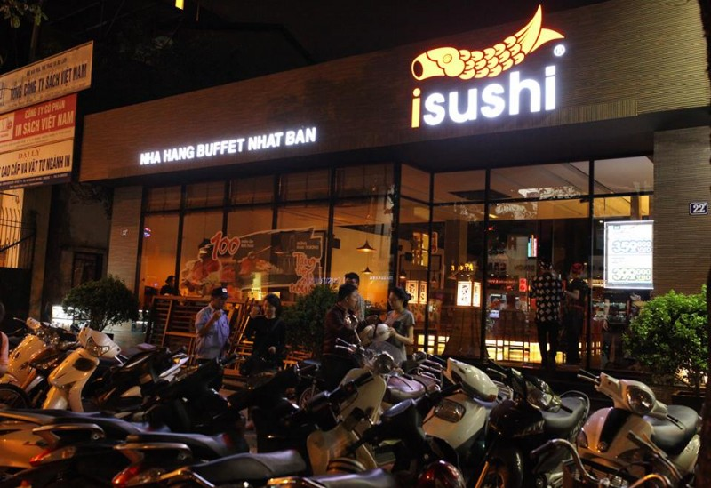 Isushi – Buffet Nhật Bản