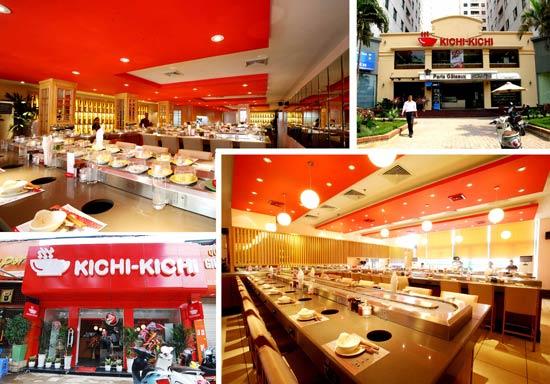 Kichi Kichi – Lẩu băng chuyền