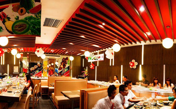 Tổng hợp địa chỉ chuỗi nhà hàng lẩu băng chuyền Kichi Kichi trên toàn quốc