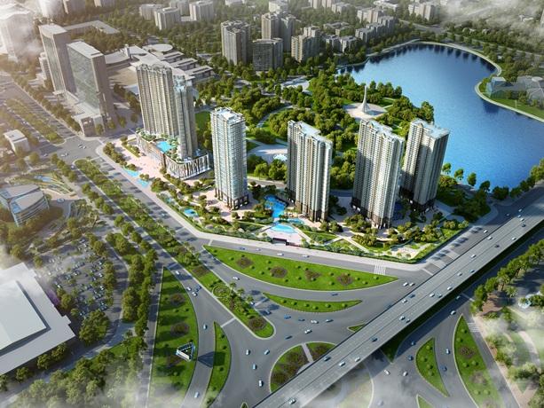 Dự án Capitale trên đường Trần Duy Hưng mở đầu phân khúc mới của Tập đoàn Tân Hoàng Minh.