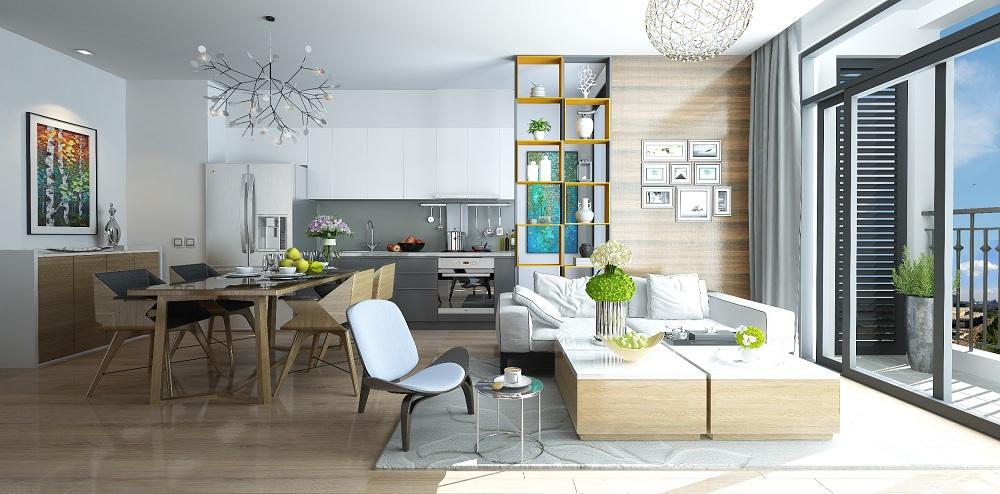 ới diện tích chỉ từ 42m2 đến hơn 90m2, các căn hộ G1 có thiết kế thông minh