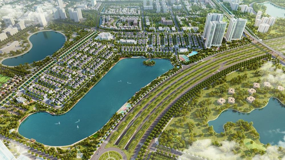 ới vị trí đắc địa tại điểm đầu của Đại lộ Thăng Long, khu đô thị Vinhomes Green Bay của tập đoàn Vingroup được coi là sở hữu chìa khóa vàng