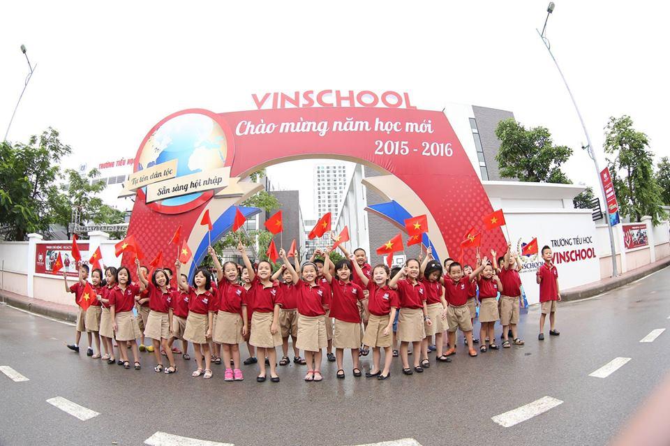 Chi phí học tại 8 trường thuộc hệ thống Vinschool