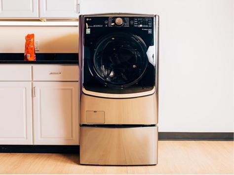 LG ra mắt máy giặt lồng đôi giúp người dùng giặt 2 mẻ một lúc