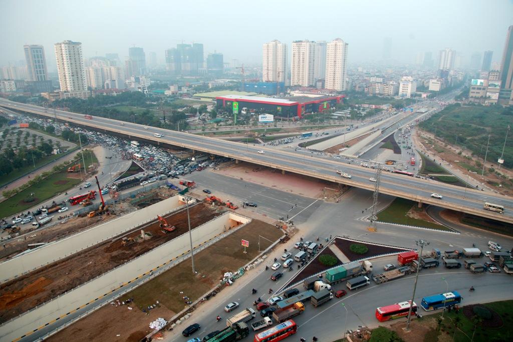 Hà Nội: Cận cảnh hầm chui trị giá 700 tỉ đồng dài 700m