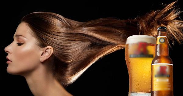 8 phương pháp chăm sóc tóc hư tổn bằng bia