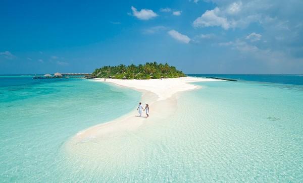 Maldives là thường được các cặp đôi lựa chọn để hưởng tuần trăng mật