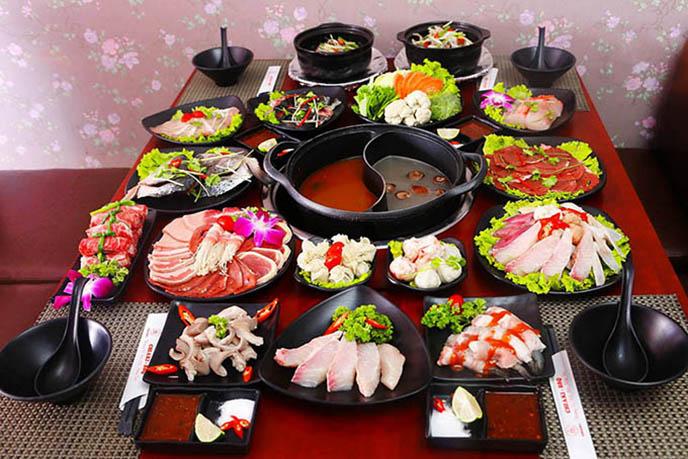 Top nhà hàng buffet lẩu nướng ngon nhất ở Hà Nội