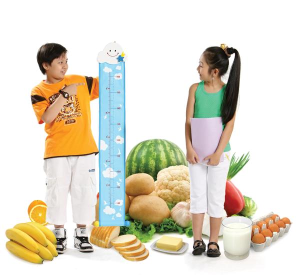 Cách cải thiện chiều cao cho trẻ